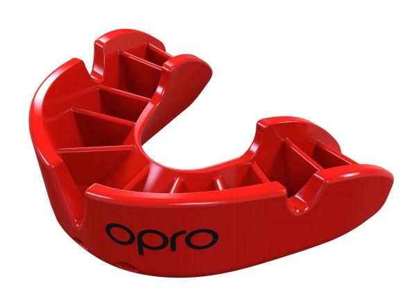 OPRO Zahnschutz Junior Bronze - Red