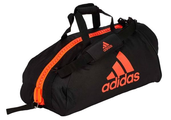 "adidas Sporttasche ""martial arts"" black/red Nylon, adiACC055"
