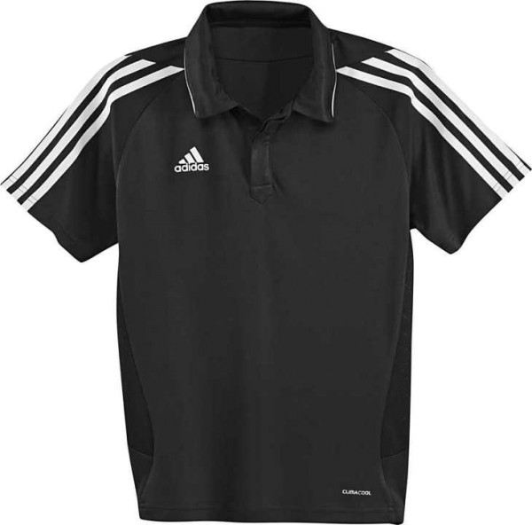 T12 Team ClimaCool Polo Jugend schwarz X34266
