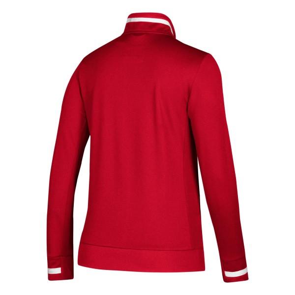 adidas T19 Trekking Jacket Damen rot/weiß, DX7326