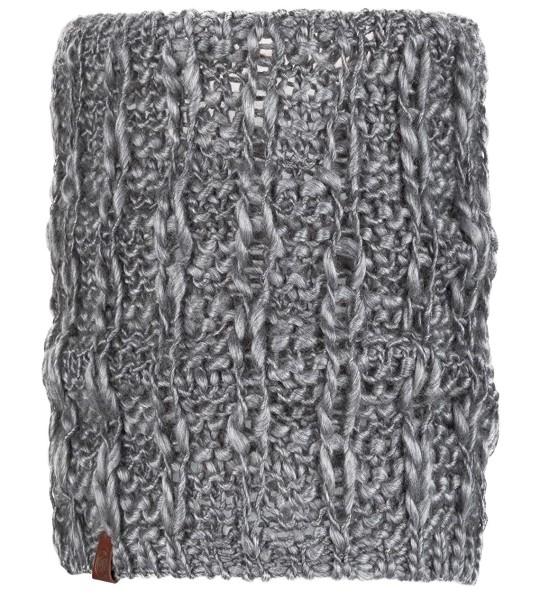 BUFF Knitted Neckwarmer Livpebble Grey, 117872