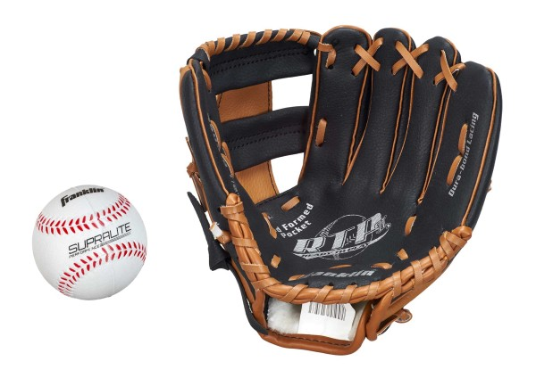 Franklin Teeball Fielding Glove - RTP Performance mit Ball, 9,5""
