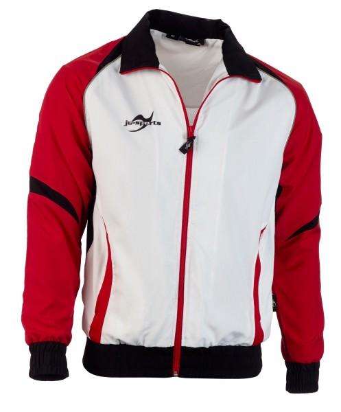 Teamwear Element C2 Jacke weiß/rot