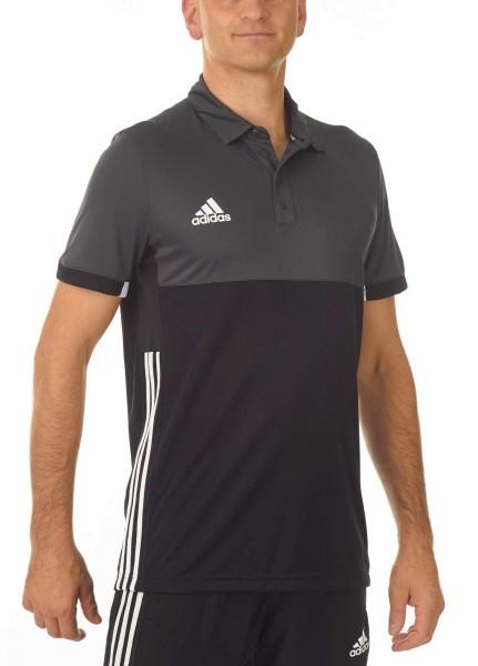 adidas T16 Clima Cool Polo Männer schwarz/grau AJ5481