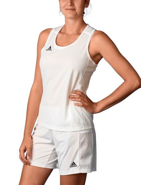 adidas T19 Singlet Shirt Damen weiß, DW6897