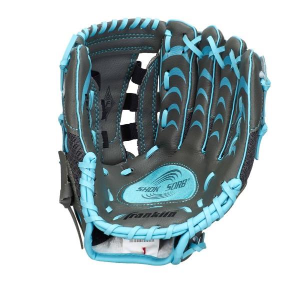 "Franklin Teeball Fielding Glove - Infinite Web®, 10,5"", blau"