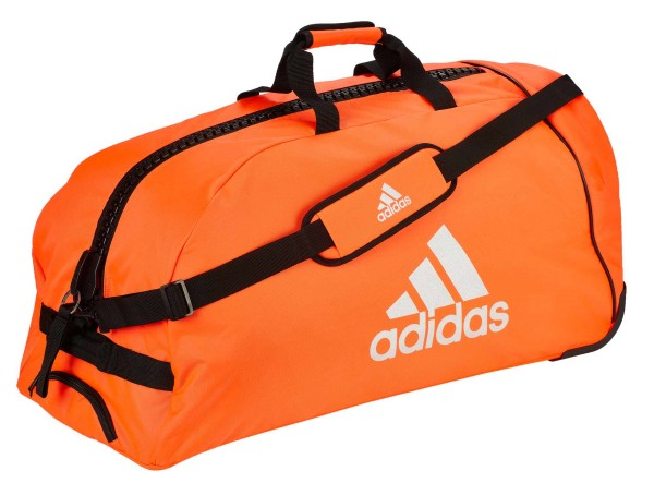 "adidas Trolley ""martial arts"" red/silver Nylon, adiACC057"