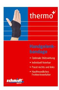thermo+ Handgelenkstütze Handgelenksbandage aus Neopren von Schmidt Sports