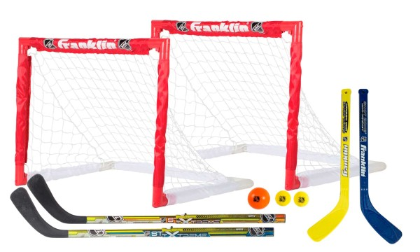 Franklin NHL 2 in 1 Hockey & Knee Hockey Set