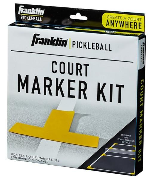 Franklin Pickleball Court Marker Gelb