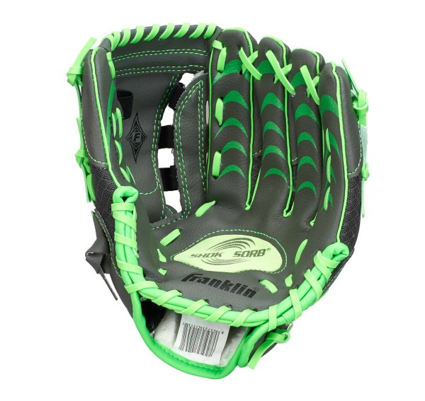 "Franklin Teeball Fielding Glove - Infinite Web®, 10,5"" grün"