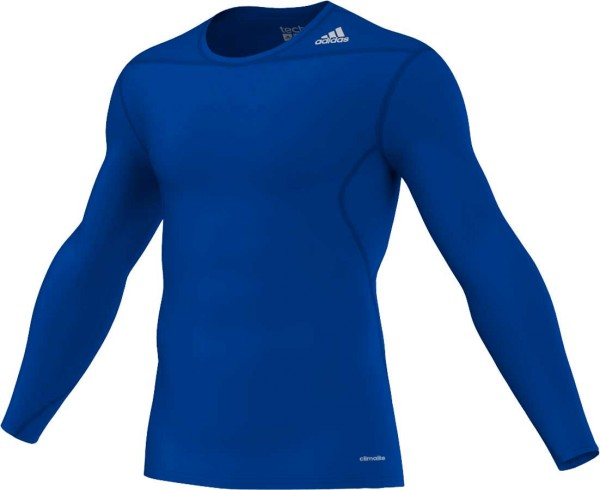 adidas Techfit Base Longsleeve royal-blue (D82062)