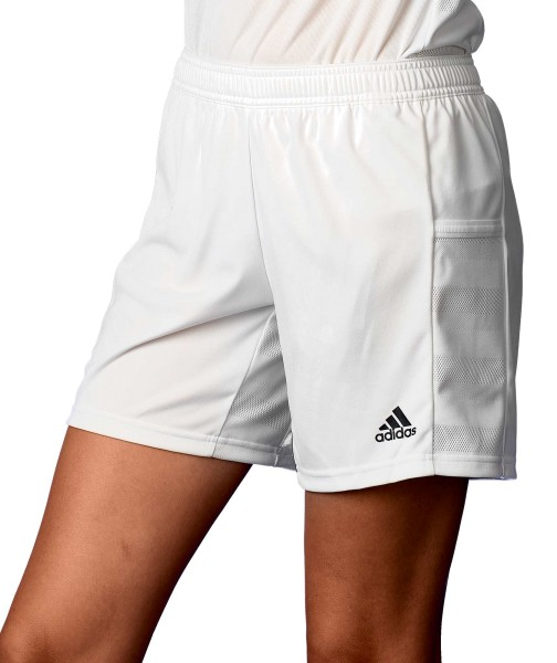 adidas T19 Knee Shorts Damen weiß, DW6883