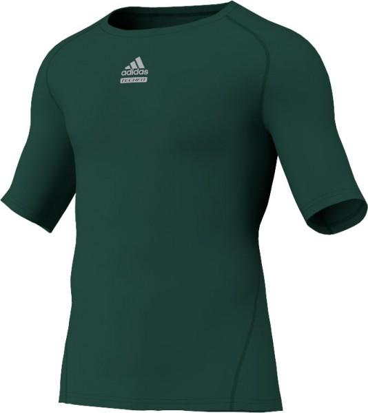 adidas Techfit C&S Shortsleeve grün (P92276)