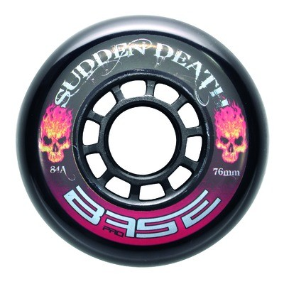 "BASE Inline Hockey Rollen ""Sudden Death"" 76 mm, 84A"