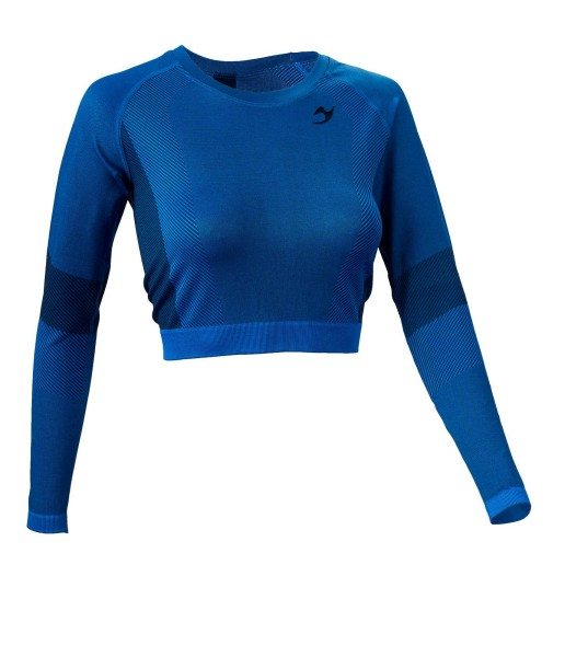 "Ju-Sports ""Gym-Line"" Seamless Longsleeved Crop Top"