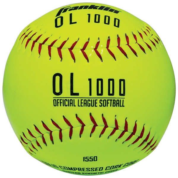 Franklin Official League Softball - gelb OL-1000