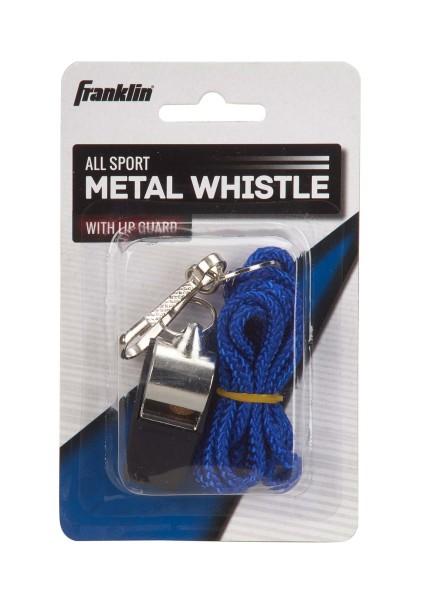 Franklin Metallpfeife mit Lippenschutz