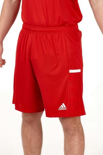 adidas T19 Knee Shorts Männer rot/weiß, DX7291