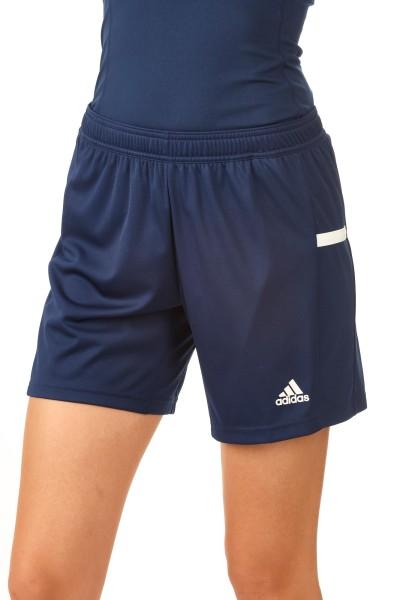 adidas T19 Knee Shorts Damen blau/weiß, DY8855