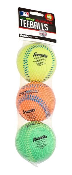 Franklin Teeball Probrite Rubber, 3er Pack