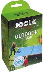 "Tischtennis Bälle 6er Pack ""Joola Allweather"", 42181"