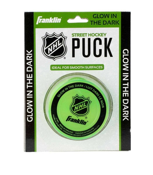 "Franklin ""Streethockey Puck"", Glow in the dark, 12226"