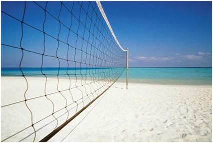 Beach-Volley-Set (Netz und Ständer) 1145
