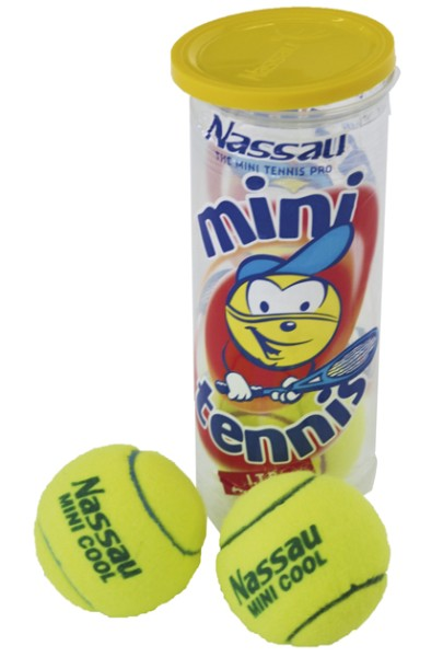 "Nassau Tennisball 3er Dose ""Mini Cool"" 2479"