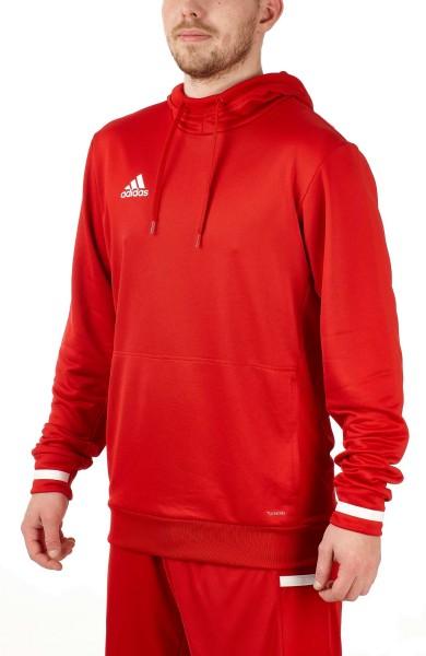 adidas T19 Hoodie Männer rot/weiß, DX7335