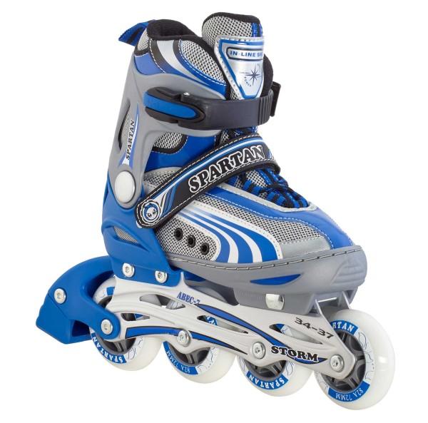 "Spartan Kinder-Inliner ""Storm"", verstellbar, 252 in blau"