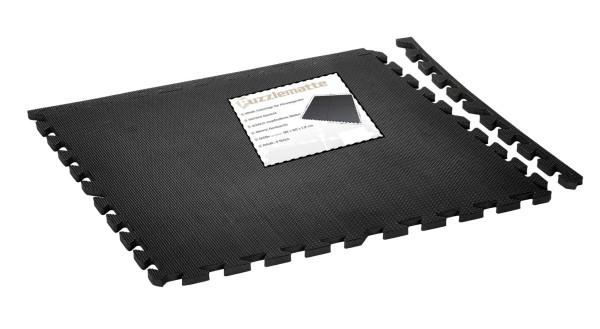 4er Set Puzzlematte 1,20 x 1,20 Meter, Fitnessunterlage