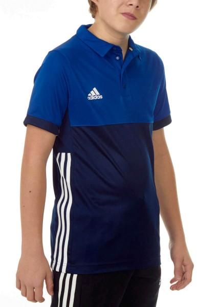 adidas T16 Clima Cool Polo Jungen navy blau/royal blau AJ5471