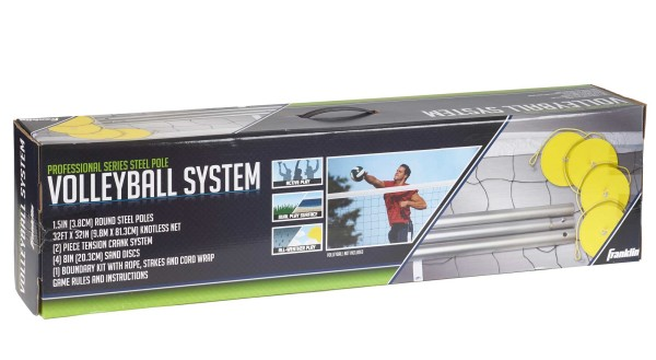 Franklin Volleyball System (Professional Series Stahlpfosten)