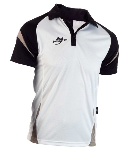 Teamwear Element C2 Polo weiß/schwarz