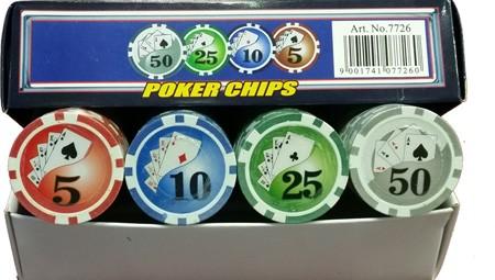 Poker Chips 100-er, 7726
