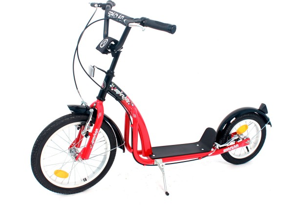 Scooter 16/12 rot, 23191