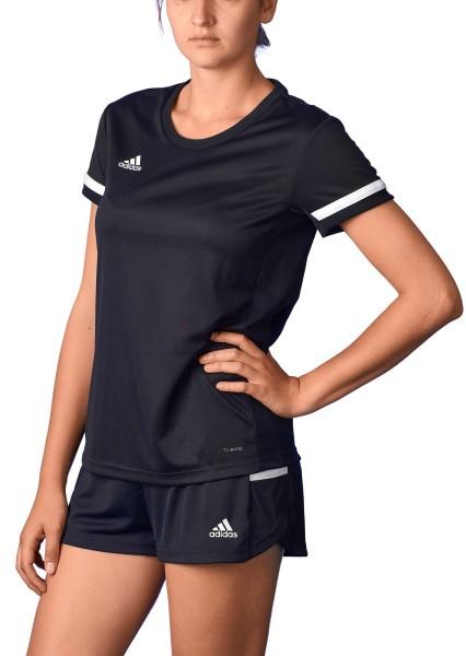 adidas T19 Shortsleeve Jersey Damen schwarz/weiß, DW6886