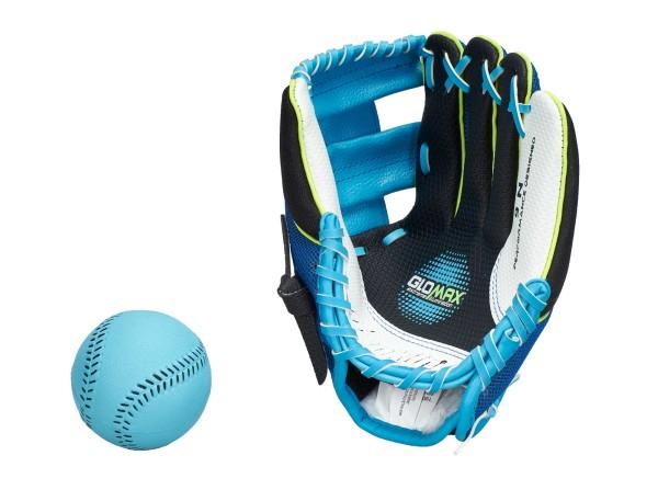 """Franklin Teeball Fielding Glove - Air-Tech Sport (mit Ball), leuchtet im Dunkeln, 9"""""""