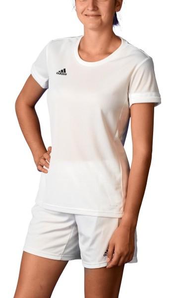 adidas T19 Shortsleeve Jersey Damen weiß, DW6887
