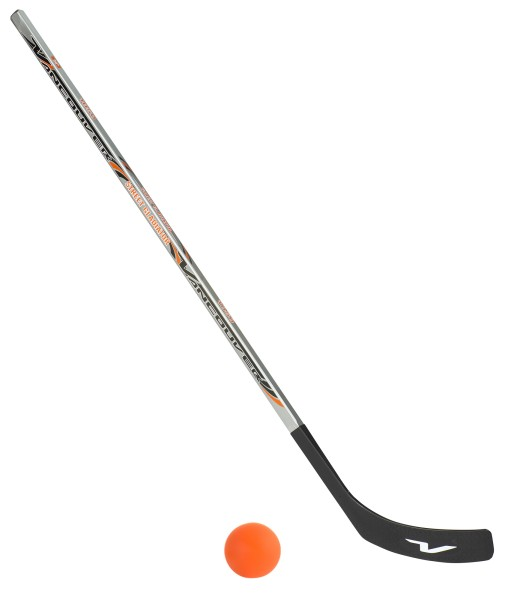 Vancouver Streethockeyschläger 125 cm, Junior plus 1 Hockey-Ball