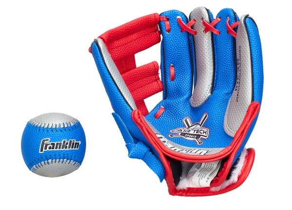 """Franklin Teeball Fielding Glove - Air-Tech mit Ball (Soft Foam), 9"""""""