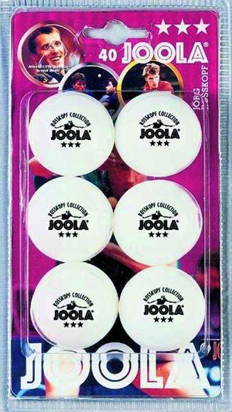 """Tischtennis Bälle 6er Pack """"Joola Rossi weiß"""", 44320"""