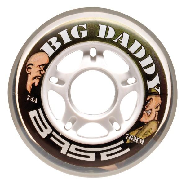 4 Stück BASE Performance Rolle Big Daddy, 74A, 72 mm, 71517