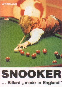 "W. Grewatsch - M. Rosenstein : Snooker - Billard ""made in England"""