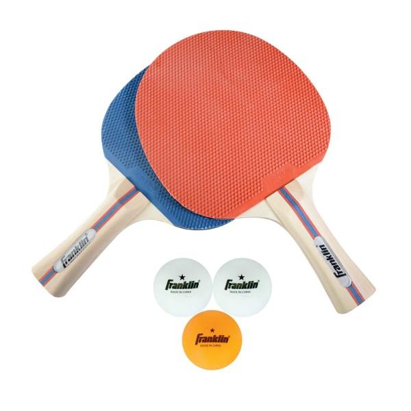 Franklin Tischtennisschläger und -ball-Set für 2 Spieler