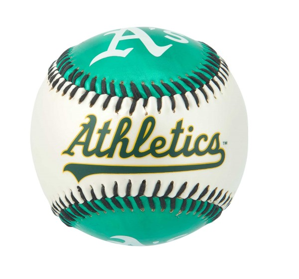 Franklin MLB Team Soft Strike® Baseballs - Athletics