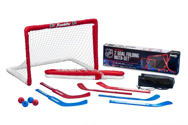 Franklin NHL Mini Hockey Goal-Set aus zwei Toren, 12456
