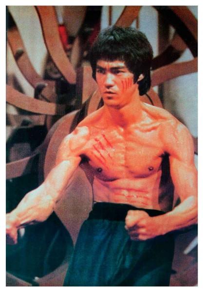 Poster Bruce Lee Todeskralle