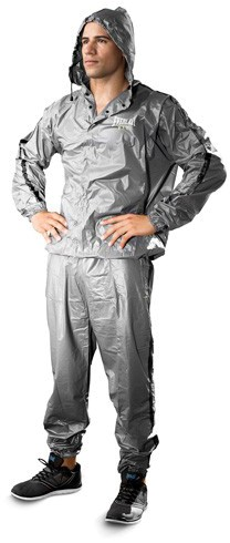 Everlast Fit Sauna Suits schwarz (M,L), 5013
